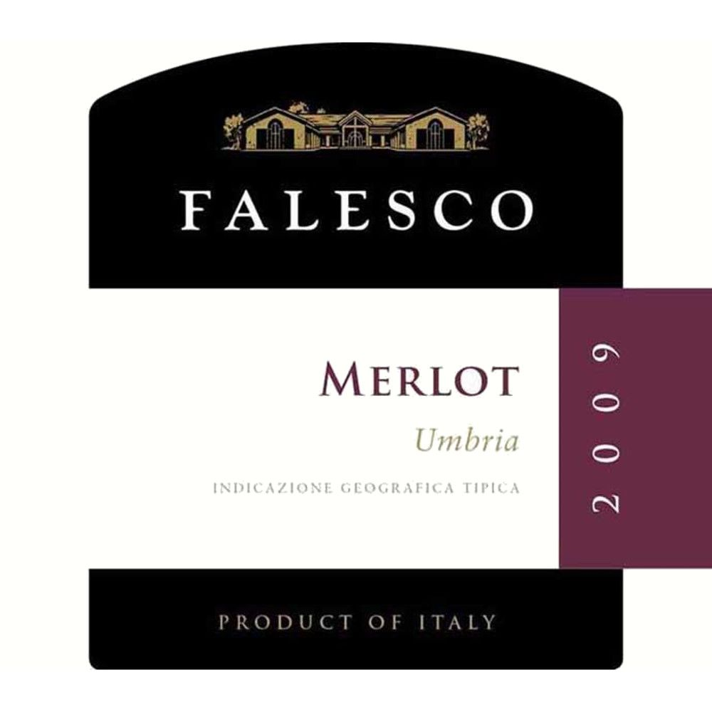 Falesco Merlot Umbria 2009 Front Label