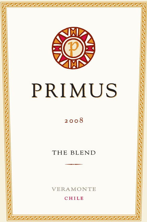 Primus The Blend 2008 Front Label