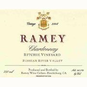 Ramey Ritchie Vineyard Chardonnay 2008 Front Label