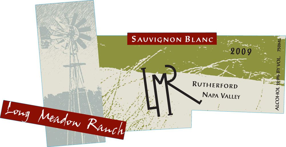 Long Meadow Ranch Rutherford Ranch Sauvignon Blanc 2009 Front Label
