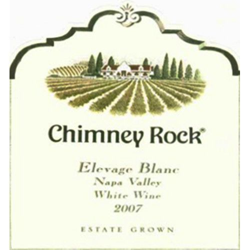 Chimney Rock Elevage Blanc 2007 Front Label