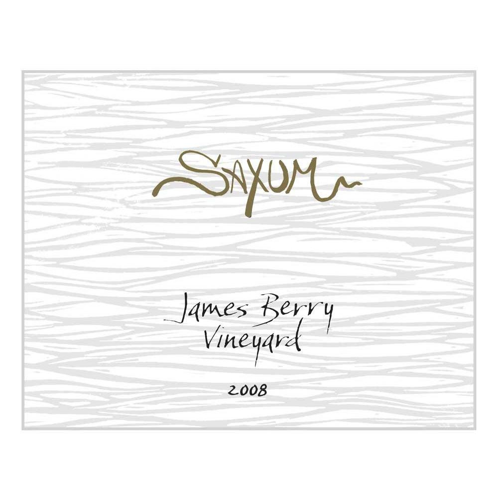 Saxum James Berry Vineyard 2008 Front Label