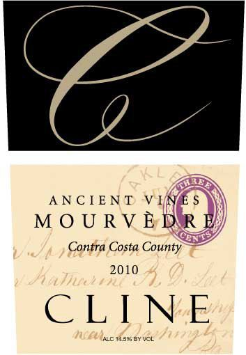 Cline Ancient Vines Mourvedre 2010 Front Label
