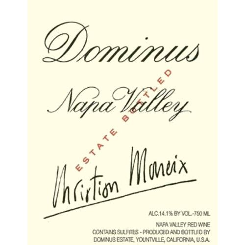 Dominus Estate (3 Liter Bottle) 2008 Front Label