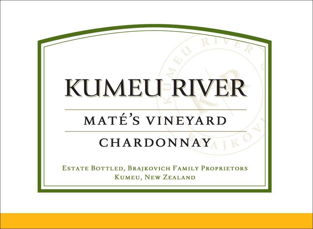 Kumeu River Mate's Vineyard Chardonnay 2008 Front Label