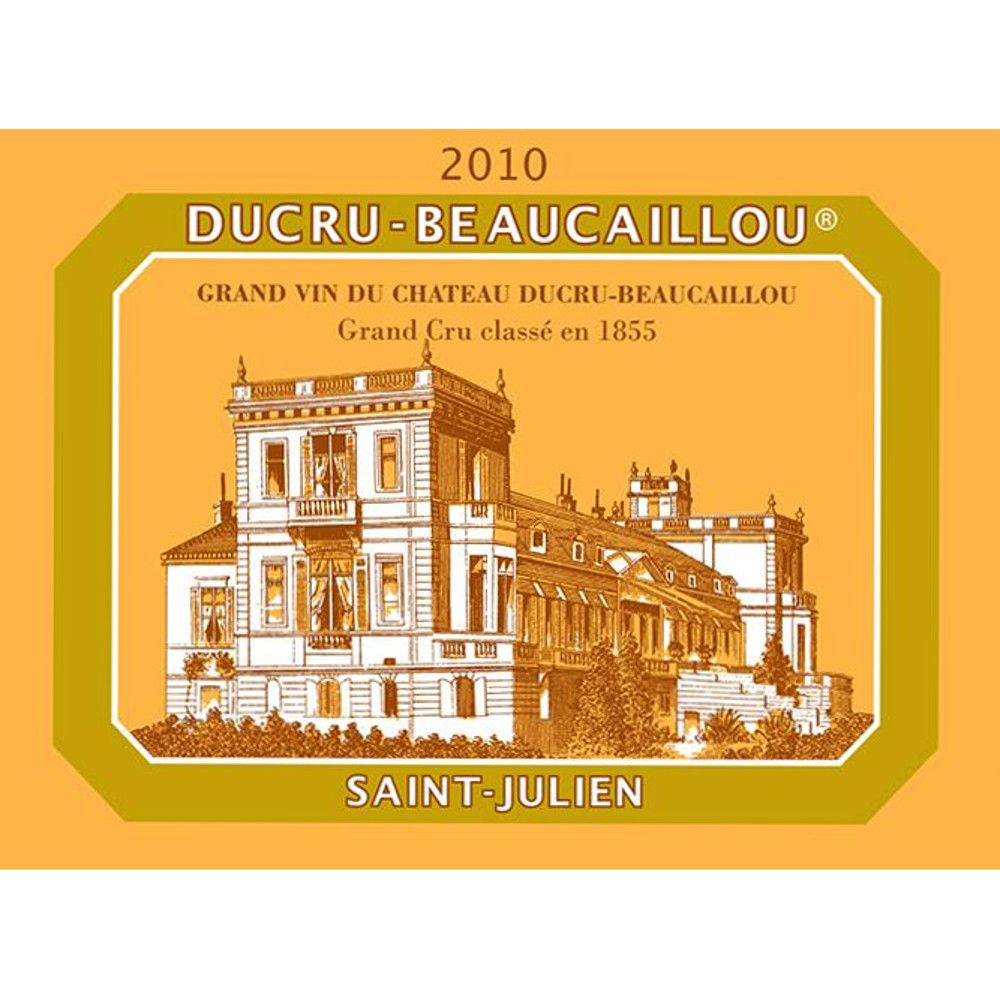 Chateau Ducru-Beaucaillou  2010 Front Label