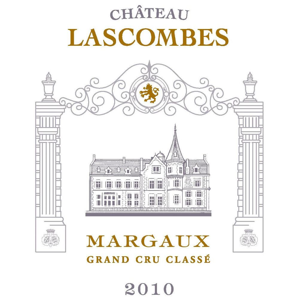 Chateau Lascombes  2010 Front Label