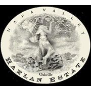 Harlan Estate 2001 Front Label