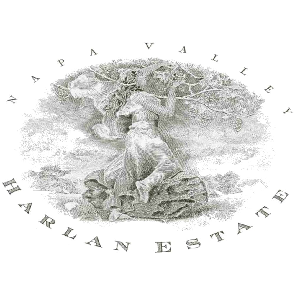 Harlan Estate (scuffed label) 2000 Front Label