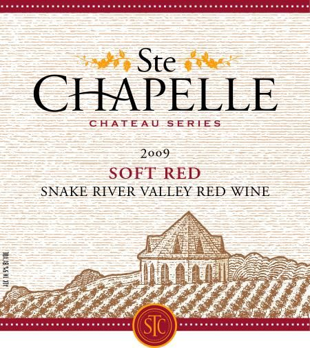 Ste. Chapelle Soft Red 2009 Front Label