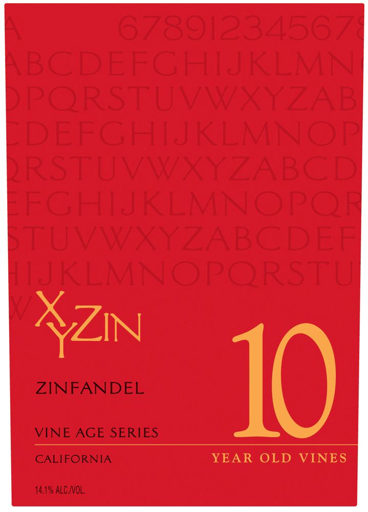 XYZin 10 2007 Front Label