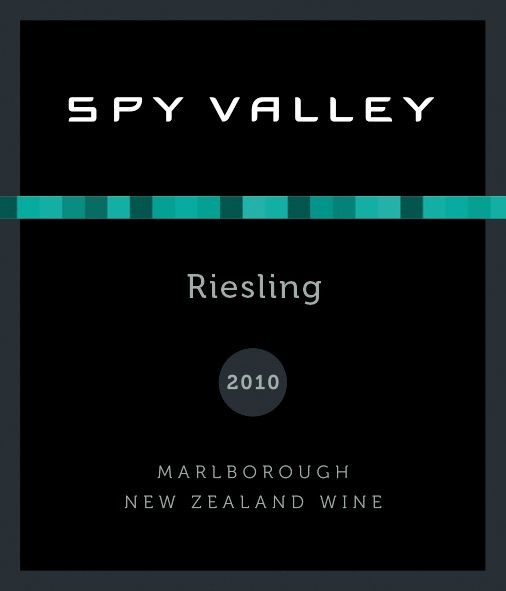 Spy Valley Riesling 2010 Front Label