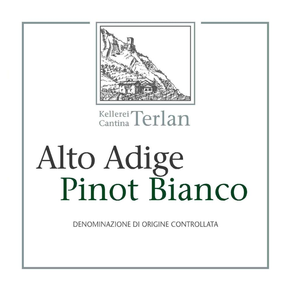 Terlano Pinot Bianco 2010 Front Label