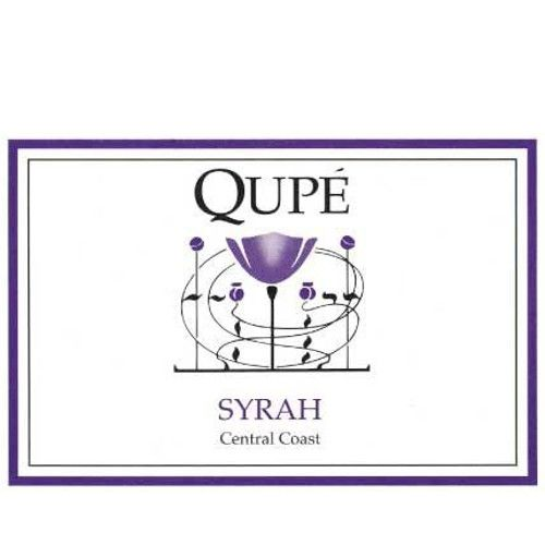 Qupe Central Coast Syrah 2009 Front Label