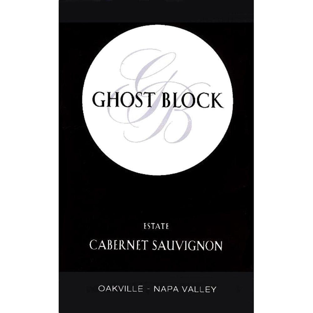 Ghost Block Oakville Estate Cabernet Sauvignon 2008 Front Label