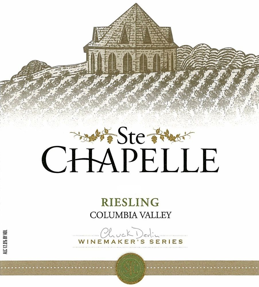 Ste. Chapelle Winemakers Riesling 2008 Front Label