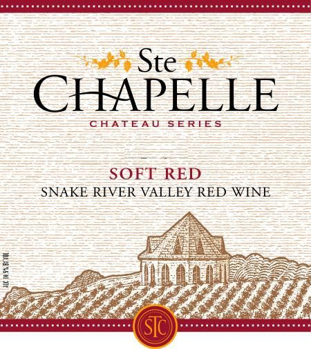 Ste. Chapelle Soft Red 2008 Front Label