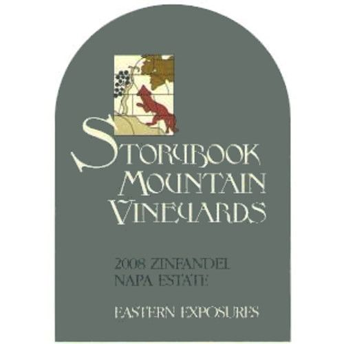 Storybook Mountain Eastern Exposures Zinfandel 2008 Front Label
