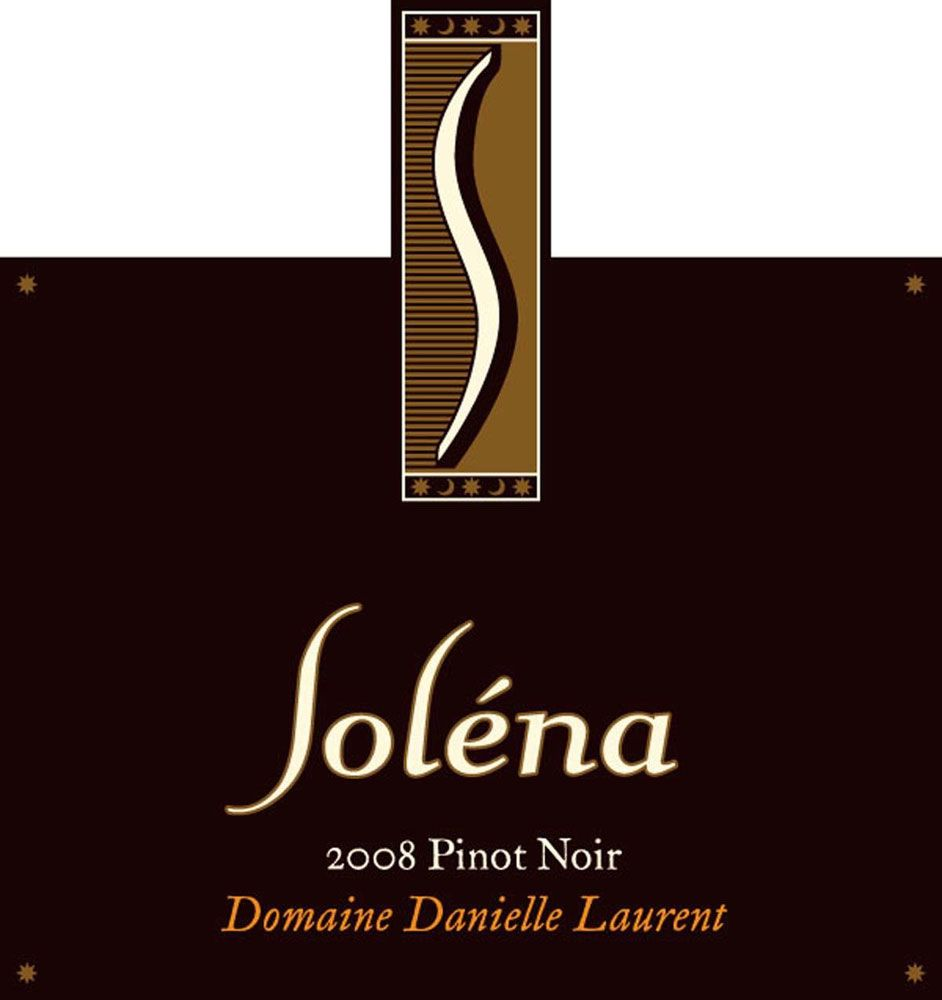 Solena Estate Domaine Danielle Laurent Pinot Noir 2008 Front Label