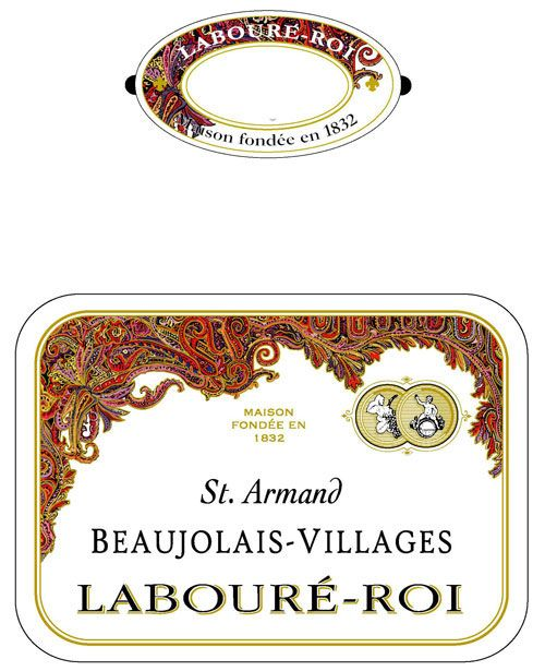Laboure Roi Beaujolais Villages St. Armand 2010 Front Label