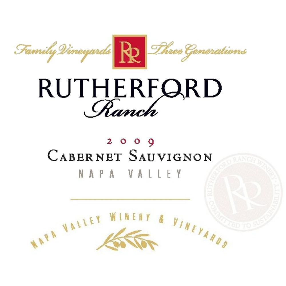 Rutherford Ranch Cabernet Sauvignon 2009 Front Label