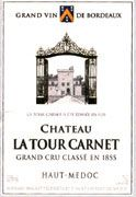 Chateau La Tour Carnet  2003 Front Label