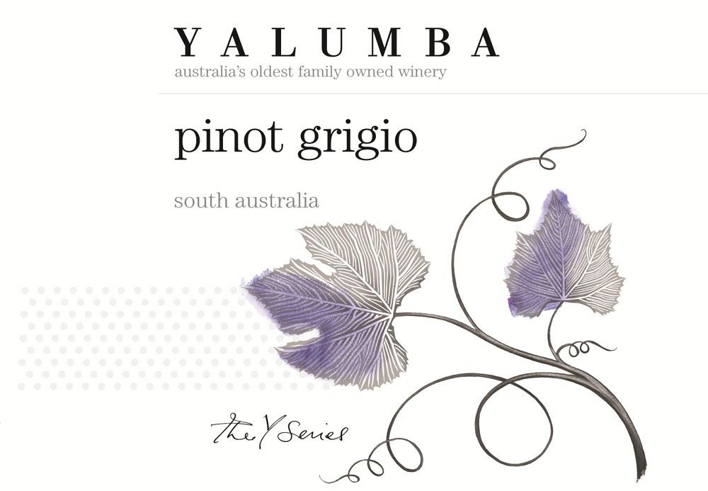 Yalumba Y Series Pinot Grigio 2010 Front Label