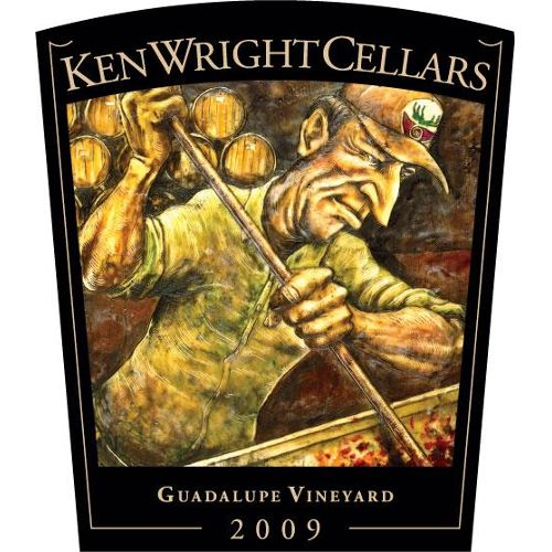 Ken Wright Cellars Guadalupe Vineyard Pinot Noir 2009 Front Label