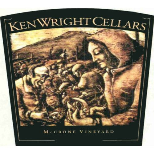 Ken Wright Cellars McCrone Vineyard Pinot Noir 2009 Front Label