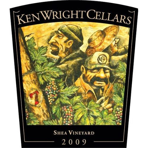 Ken Wright Cellars Shea Vineyard Pinot Noir 2009 Front Label