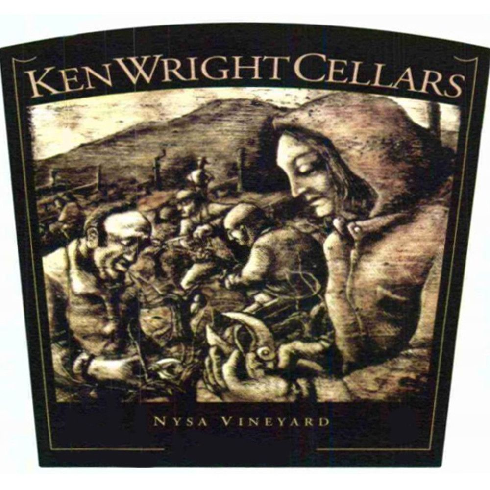 Ken Wright Cellars Nysa Vineyard Pinot Noir (375ML half-bottle) 2008 Front Label