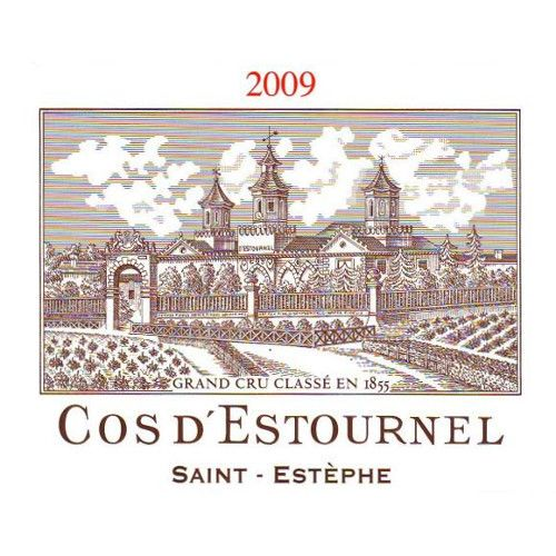Chateau Cos d'Estournel  2009 Front Label