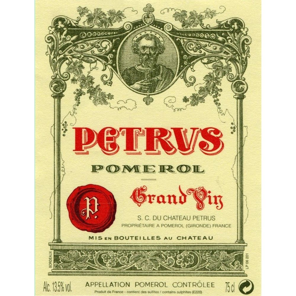 Chateau Petrus  2009 Front Label