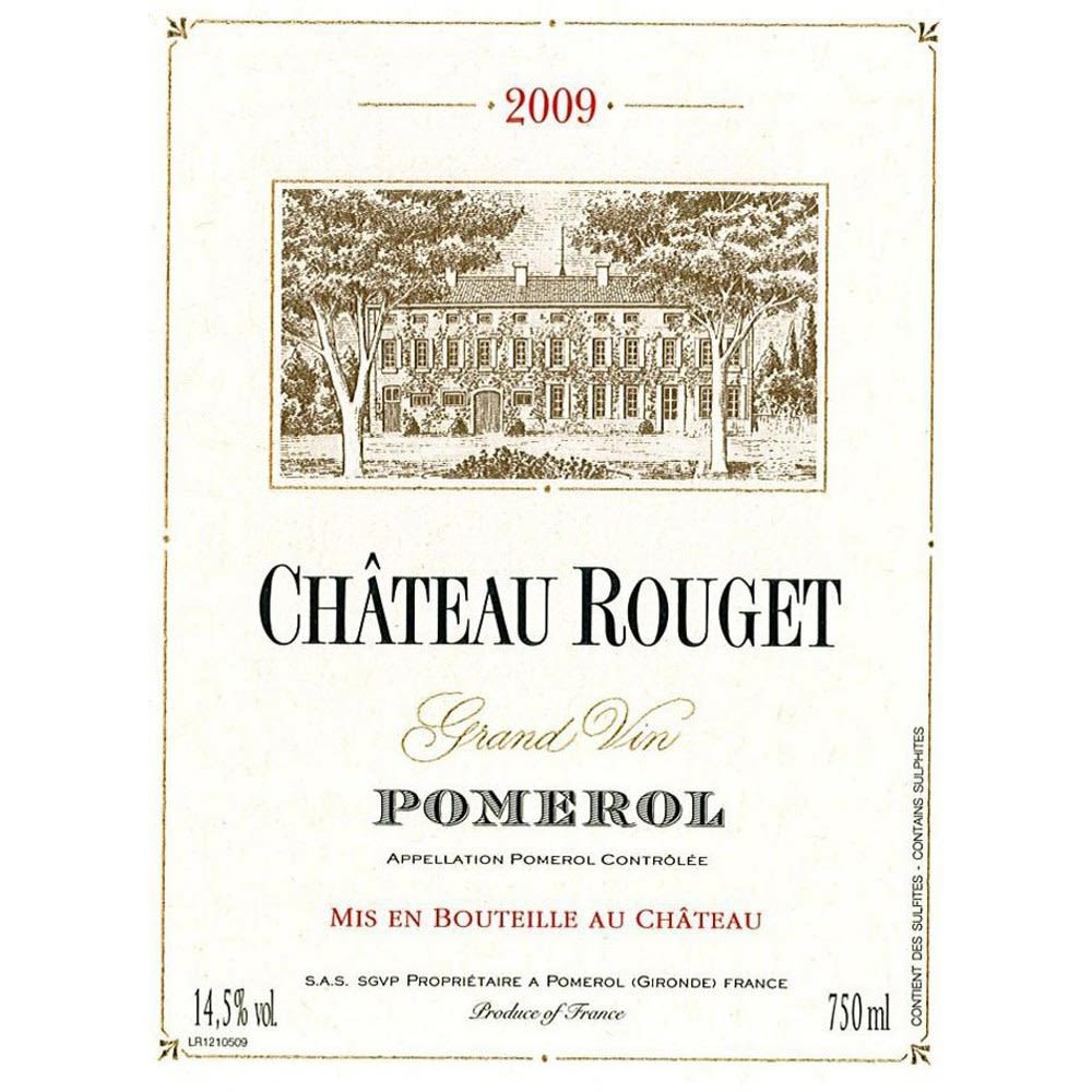 Chateau Rouget  2009 Front Label