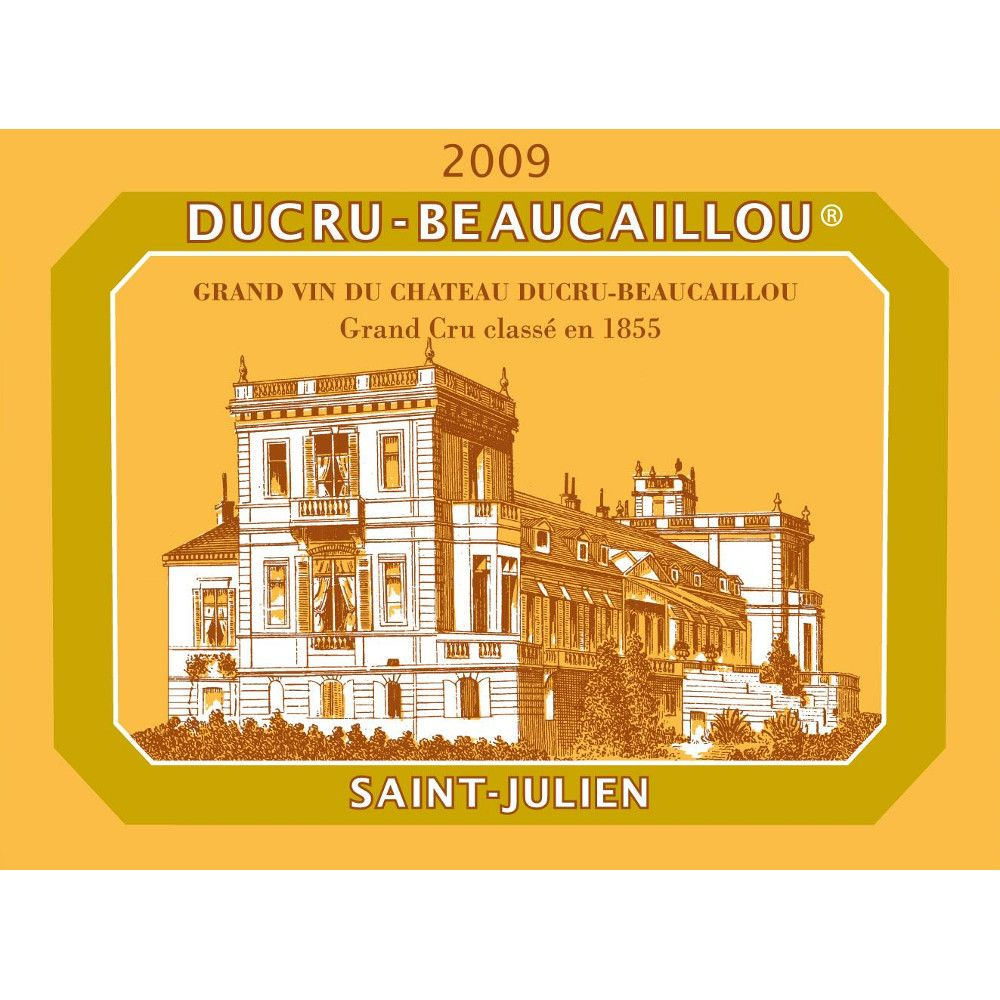 Chateau Ducru-Beaucaillou  2009 Front Label