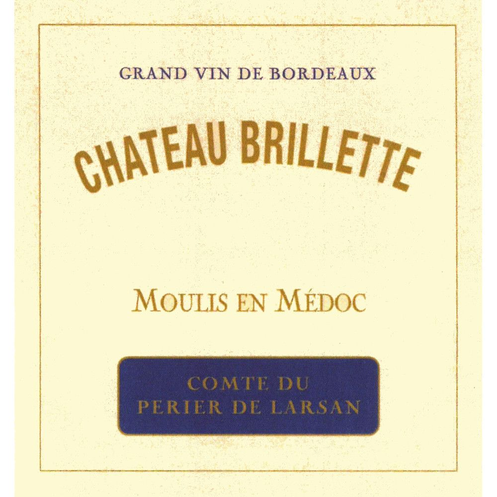 Chateau Brillette Moulis en Medoc 2009 Front Label