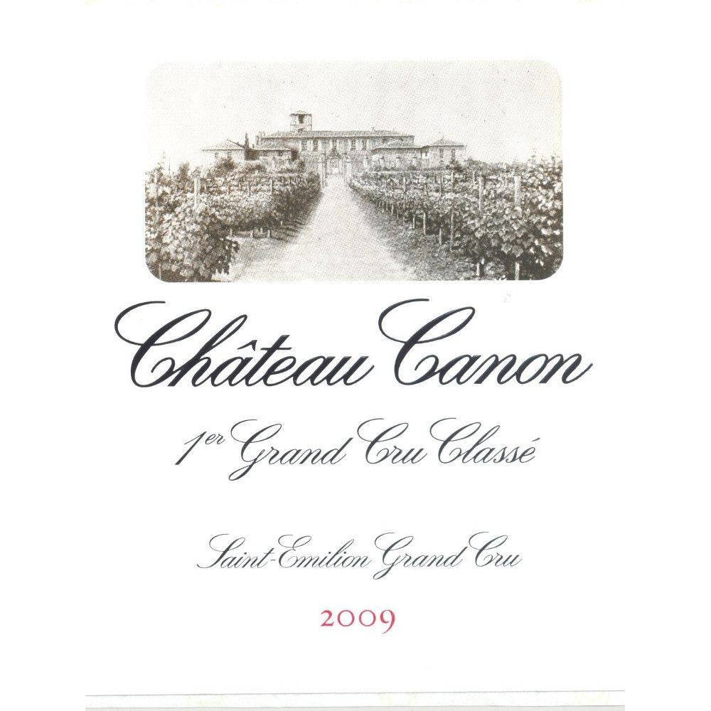 Chateau Canon  2009 Front Label