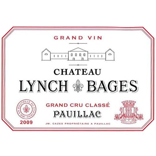 Chateau Lynch-Bages  2009 Front Label