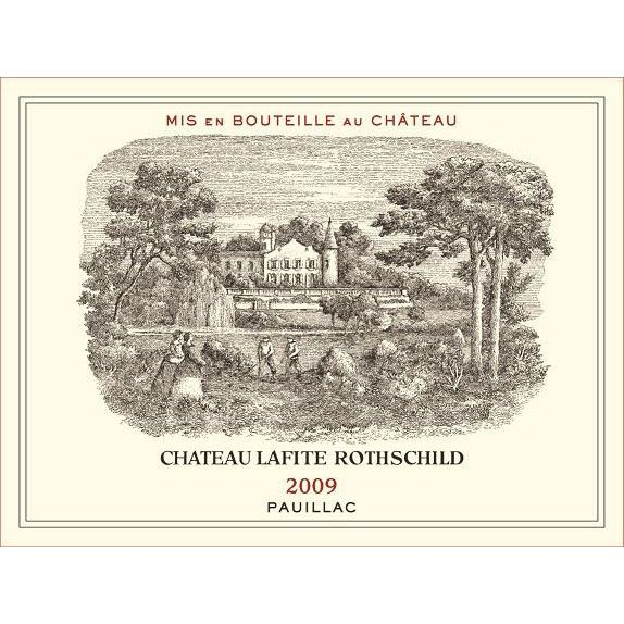 Chateau Lafite Rothschild  2009 Front Label