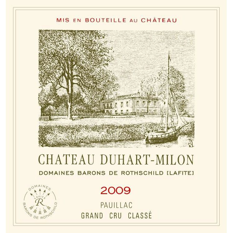 Chateau Duhart-Milon  2009 Front Label