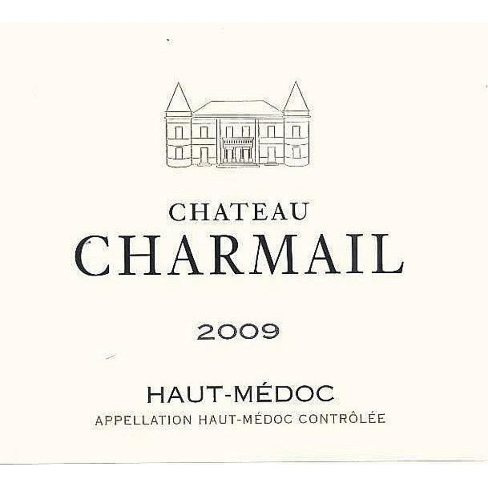 Chateau Charmail  2009 Front Label