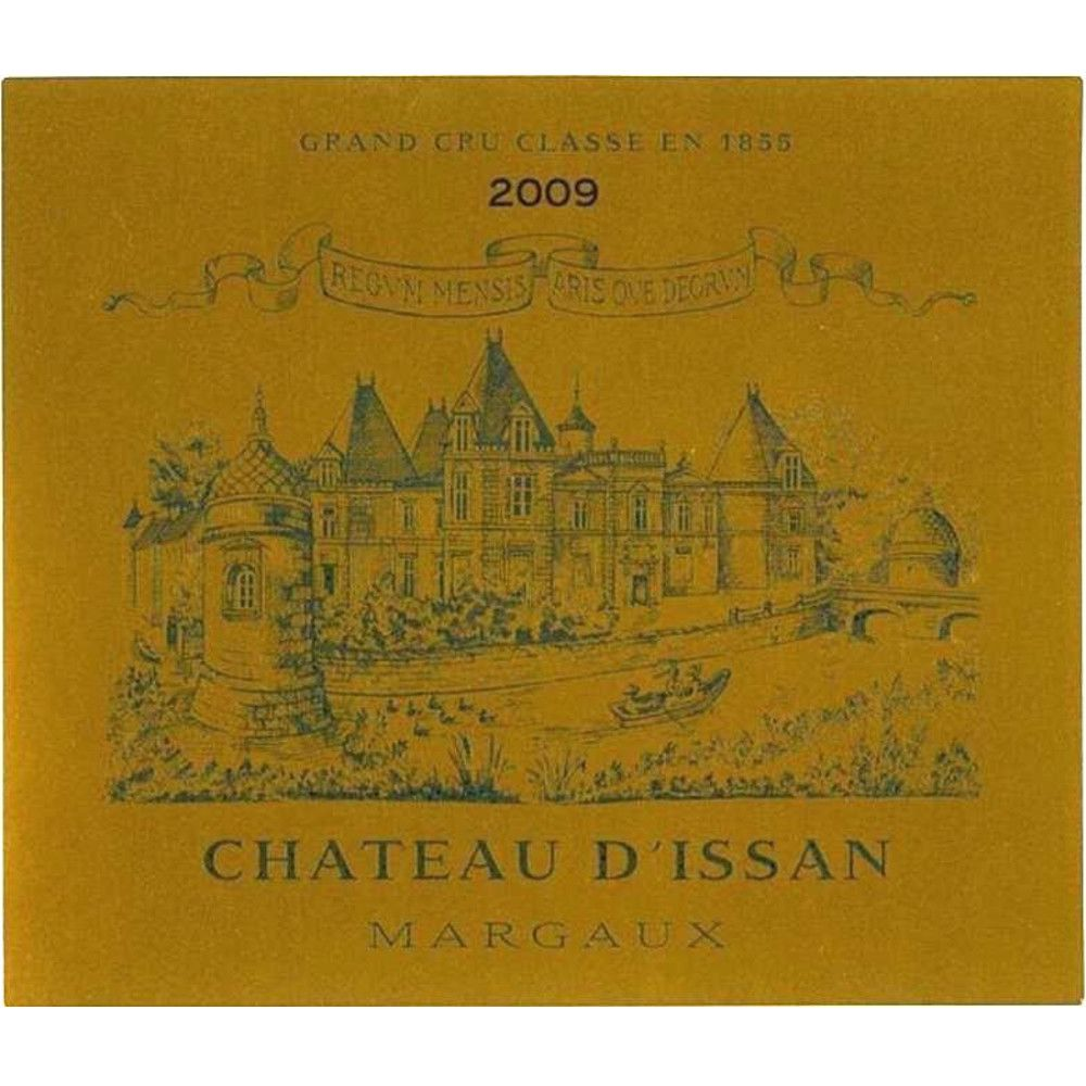Chateau d'Issan  2009 Front Label