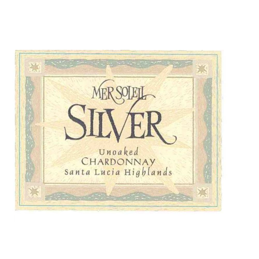 Mer Soleil Silver Unoaked Chardonnay 2010 Front Label