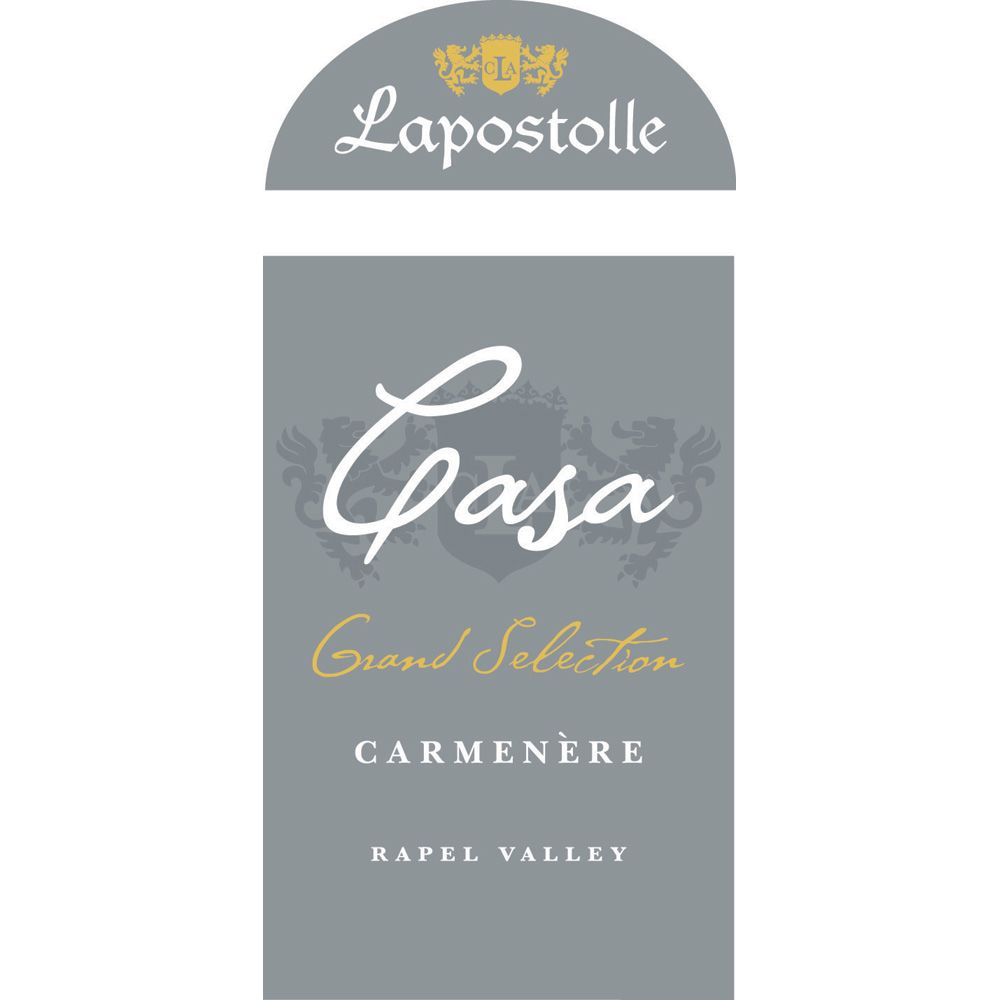 Lapostolle Grand Selection Carmenere 2010 Front Label