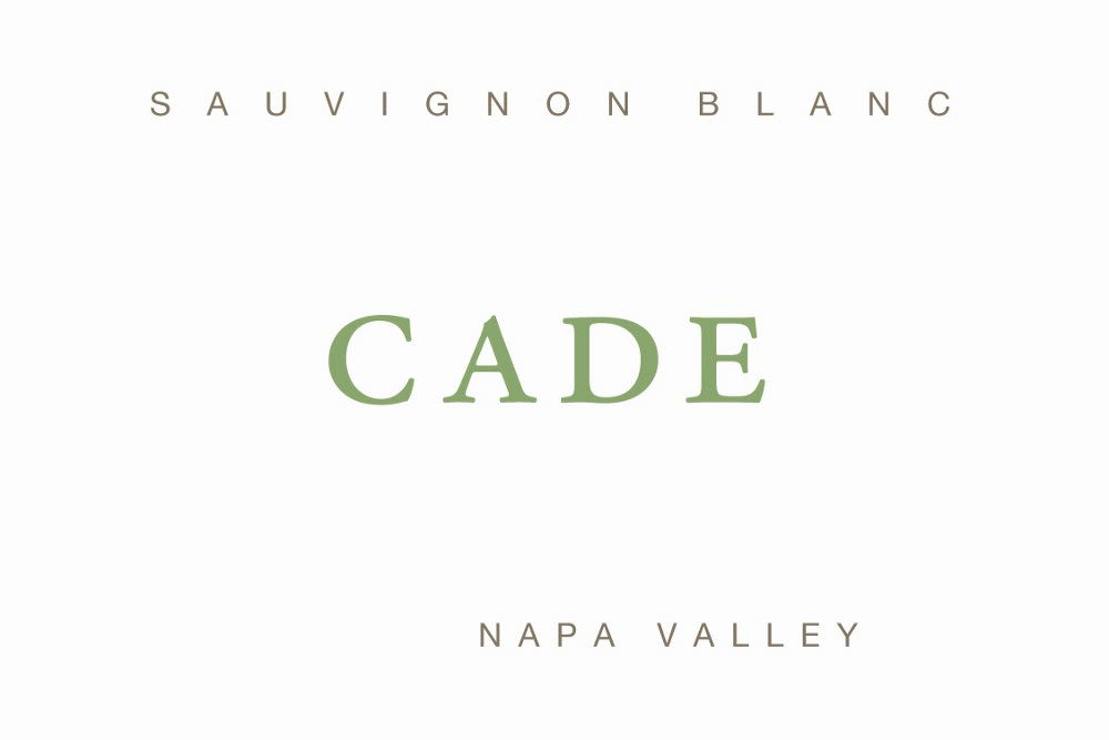 CADE Estate Sauvignon Blanc 2009 Front Label