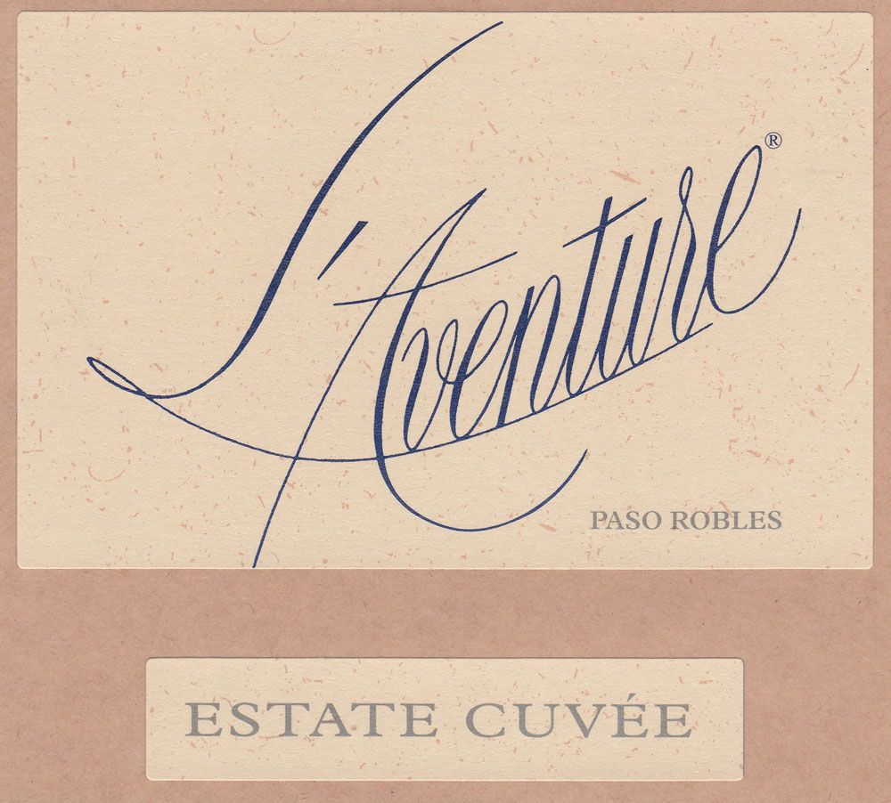 L'Aventure Estate Cuvee 2009 Front Label