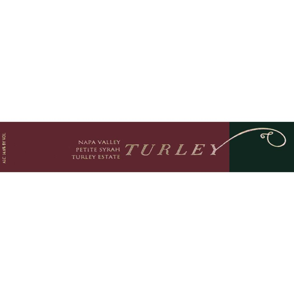 Turley Estate Petite Syrah 2009 Front Label