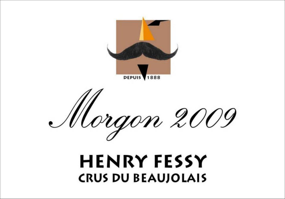 Henry Fessy Morgon 2009 Front Label