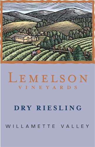 Lemelson Dry Riesling 2009 Front Label