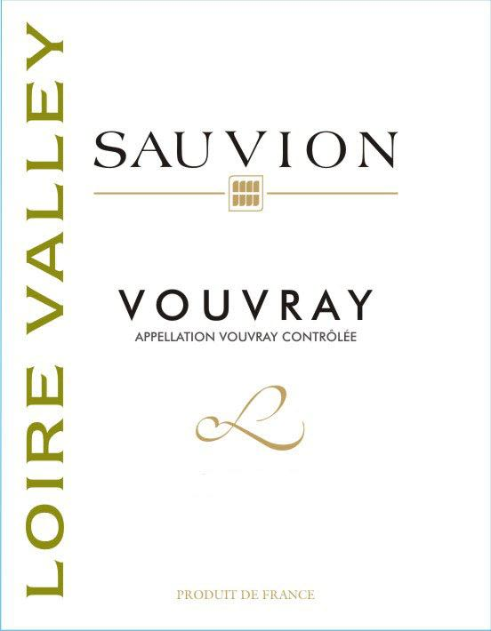 Sauvion Vouvray 2010 Front Label